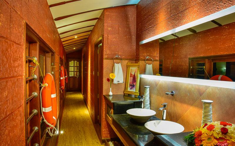 Corridor in Houseboat